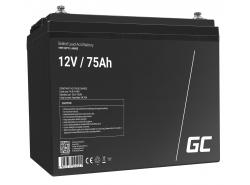 Green Cell ® Gel Battery AGM VRLA 12V 75Ah