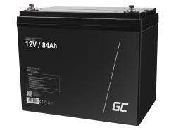 Green Cell ® Gel Battery AGM VRLA 12V 84Ah