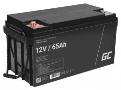 Green Cell ® Battery AGM VRLA 12V 65Ah