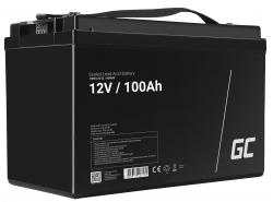 Green Cell ® Battery AGM VRLA 12V 100Ah