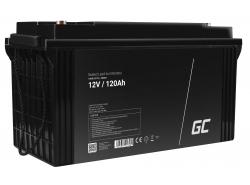 Green Cell ® Battery AGM VRLA 12V 120Ah