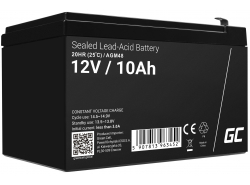 AGM Battery Lead Acid 12V 10Ah Maintenance Free Green Cell for photovoltaic and echo sounder