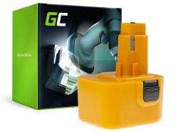 Green Cell® Battery (2Ah 12V) A9252 DE9037 DE9071 DE9074 for DeWalt / Black&Decker BSA12K CD1200 DW907 CD12C DC740KA DC742K