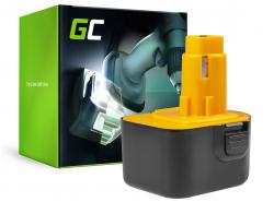Green Cell® Battery (3Ah 12V) A9252 DE9037 DE9071 DE9074 for DeWalt / Black&Decker BSA12K CD1200 DW907 CD12C DC740KA DC742K