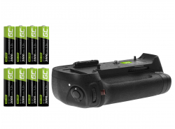 Grip Green Cell MB-D12H for the Nikon D800 D800E D810 D810A camera