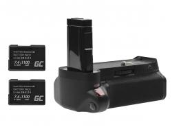 Grip Green Cell BG-2F for the Nikon D3100 D3200 camera