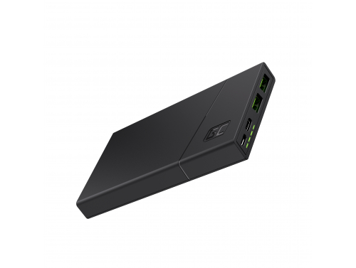 Power Bank Green Cell GC PowerPlay10 10000mAh with fast charging 2x USB Ultra Charge and USB-C Power Delivery 18W