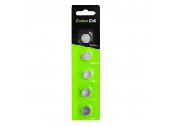 Green Cell Blister 5x battery LR44 1.5V Lithium Button