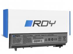RDY Laptop Battery PT434 W1193 for Dell Latitude E6400 E6410 E6500 E6510 E6400 ATG E6410 ATG Precision M2400 M4400 M4500