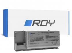 RDY Laptop Battery PC764 JD634 for Dell Latitude D620 D620 ATG D630 D630 ATG D630N D631 D631N D830N PP18L Precision M2300