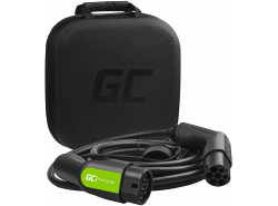 Cable Green Cell GC Type 2 11kW 23 ft for charging EV / PHEV