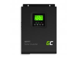 Solar Wechselrichter Off Grid Wechselrichter Mit MPPT Green Cell Solar Ladegerät 12VDC 230VAC 1000VA / 1000W Reine Sinuswelle