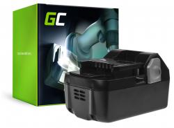 Green Cell® Battery (4Ah 18V) BSL1815 BSL1820 BSL1830 BSL1840 for Hitachi C18DSL C18DSL2 C18DSLP4 CG18DSDL CJ18DSL G18DSL