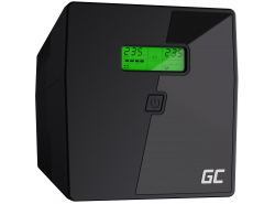 Green Cell ® UPS UPS Uninterruptible Power Supply 1000VA 600W with LCD Display