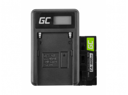 Green Cell ® Battery EN-EL3 and Charger MH-18 for Nikon DSLR D100 D200 D300 D50 D70 D80