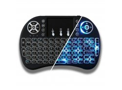 Wireless Backlit Keyboard Green Cell ® with Touchpad
