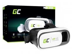 VR Glasses Green Cell ® 3D Virtual Reality Glasses + Pilot