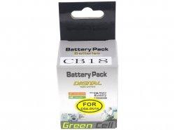 Batterie Green Cell ® Zur Kamera Panasonic GS10 GS200 GS300 CGA-DU14