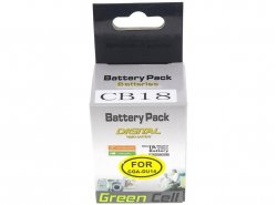 Green Cell ® Camera Battery Replacement for Panasonic GS10 GS200 GS300 CGA-DU14