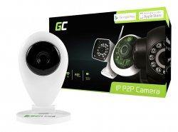 Camera IP Green Cell CM26 intern WI-FI HD 720P ONVIF